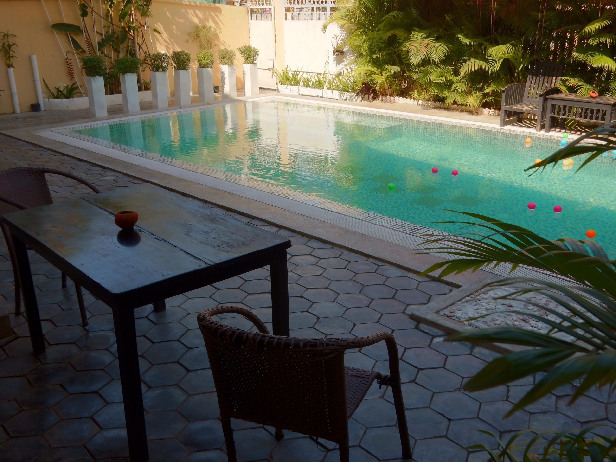 Royal Mekong Boutique Hotel pool chair
