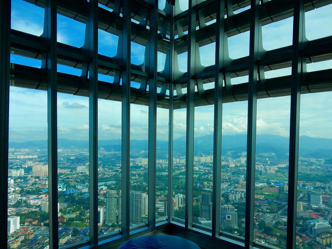 Kuala Lumpur Petronas tornyok nyitva tartas view kilatas