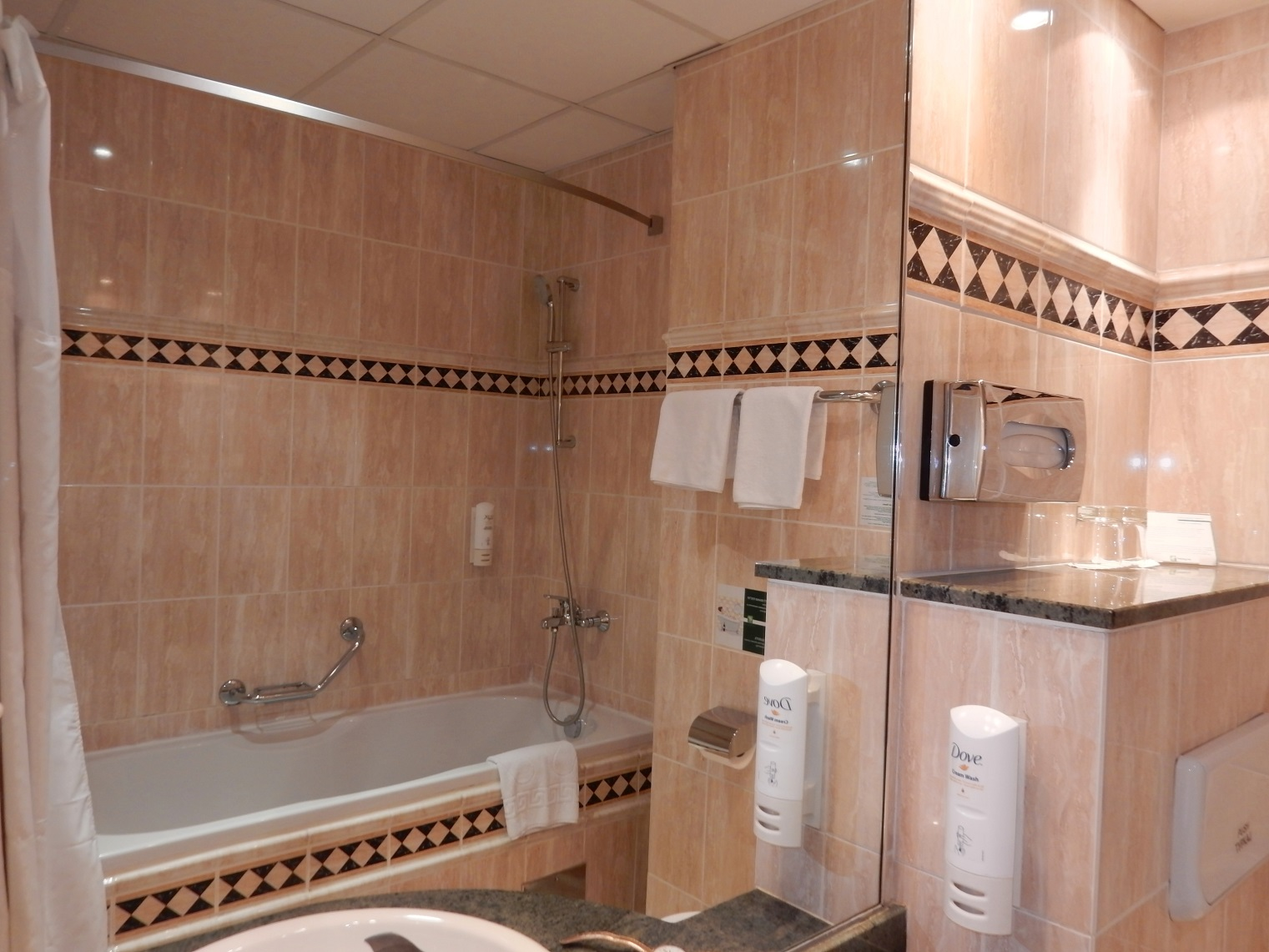 Holiday Inn Skopje Bathroom