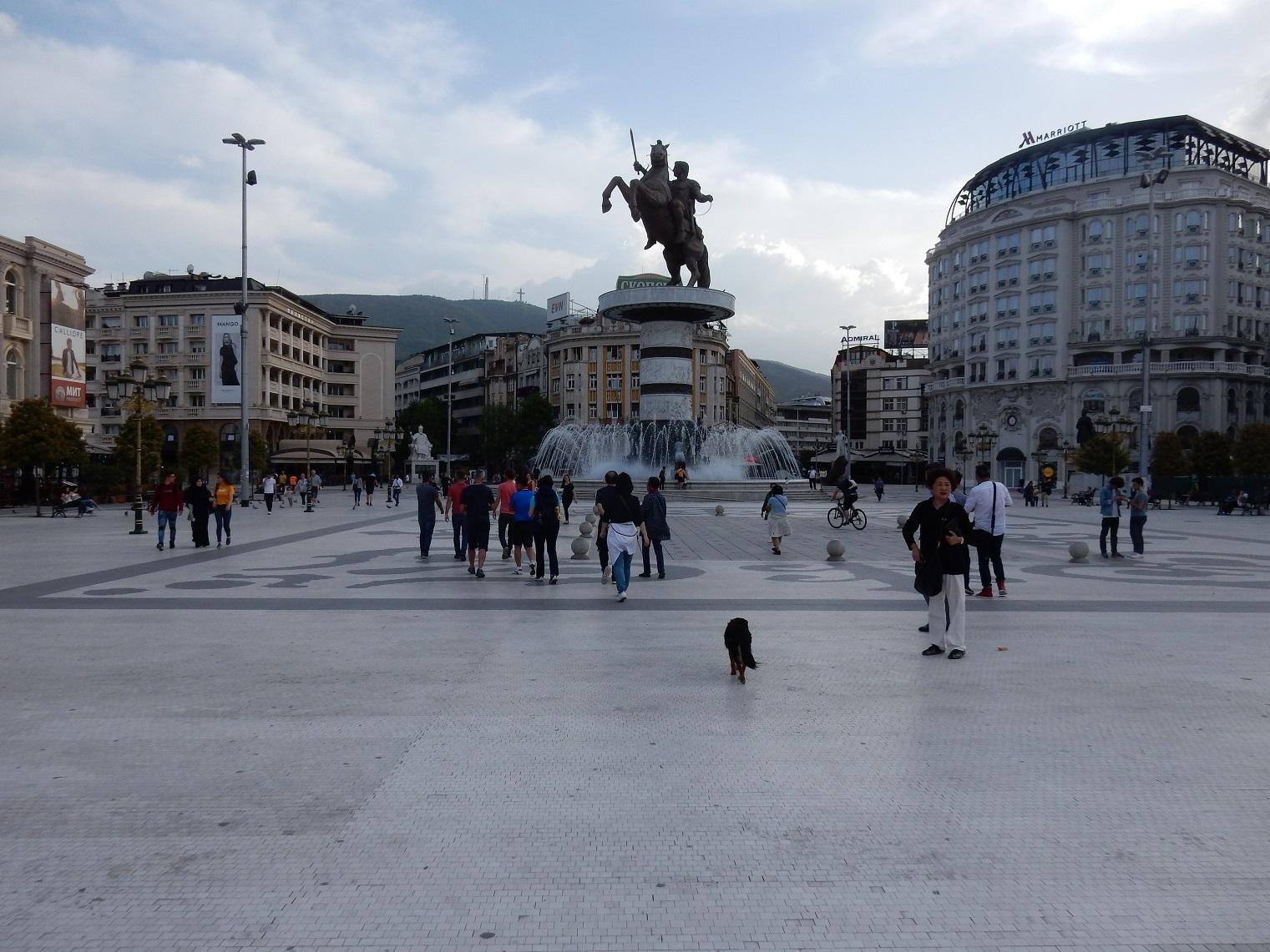 Skopje Alexander the great square