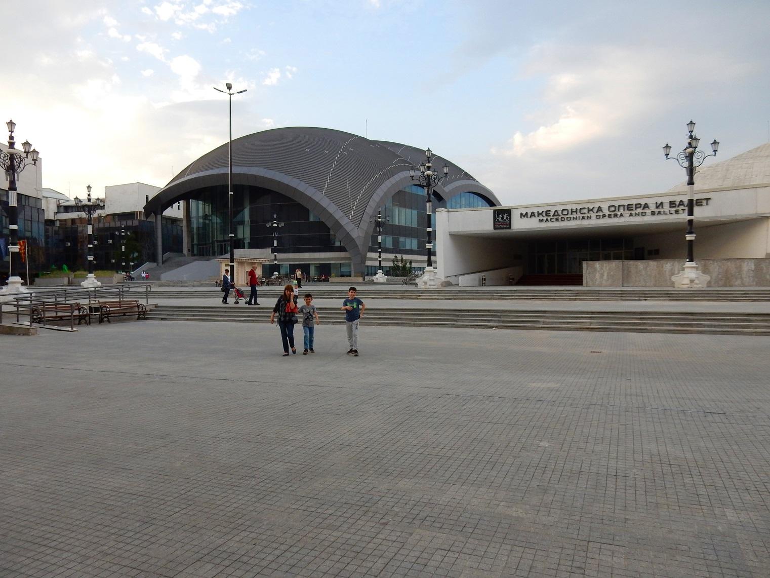 Skopje Macedonian Opera and Ballet