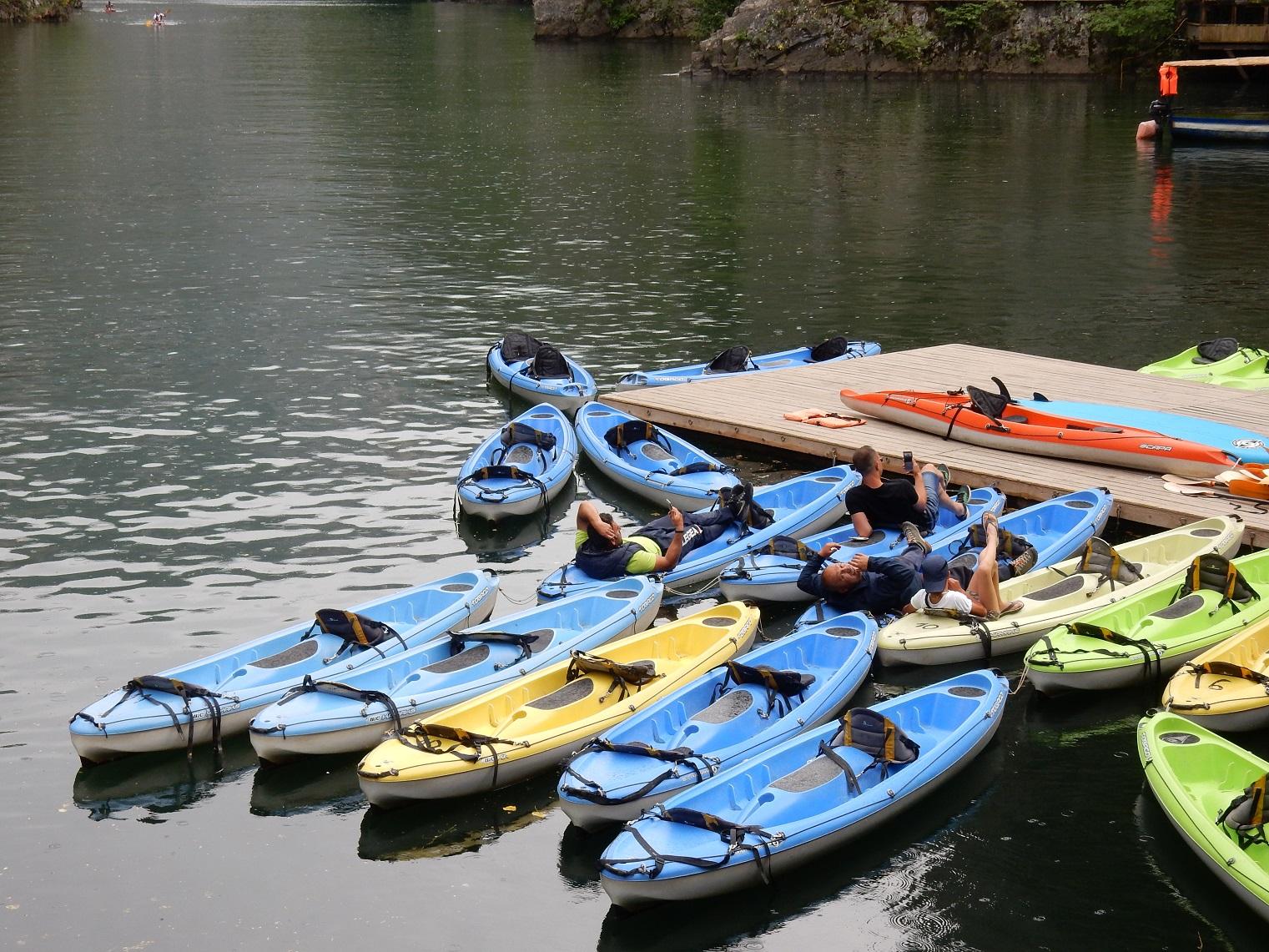 Matka Canyon kayak Skopje Macedoniaa