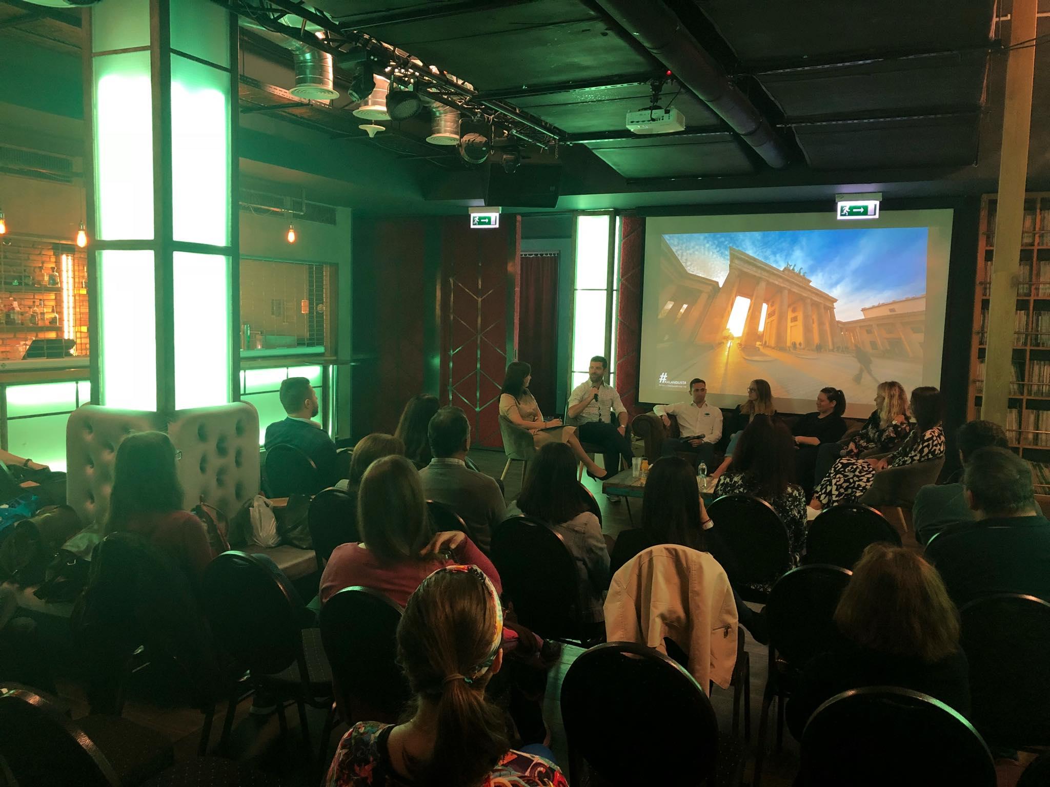 Spabook Linguafest kerekasztal talk Akvárium klub