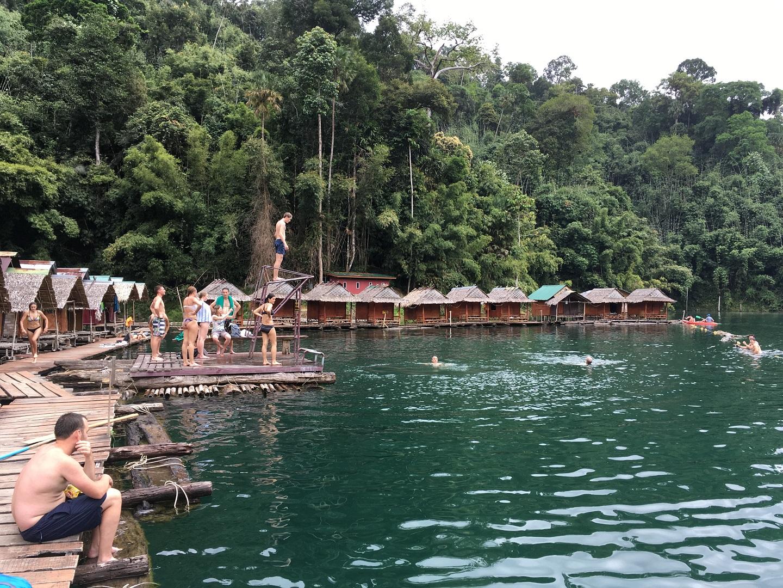 Khao Sok nemzeti park Thaiföld