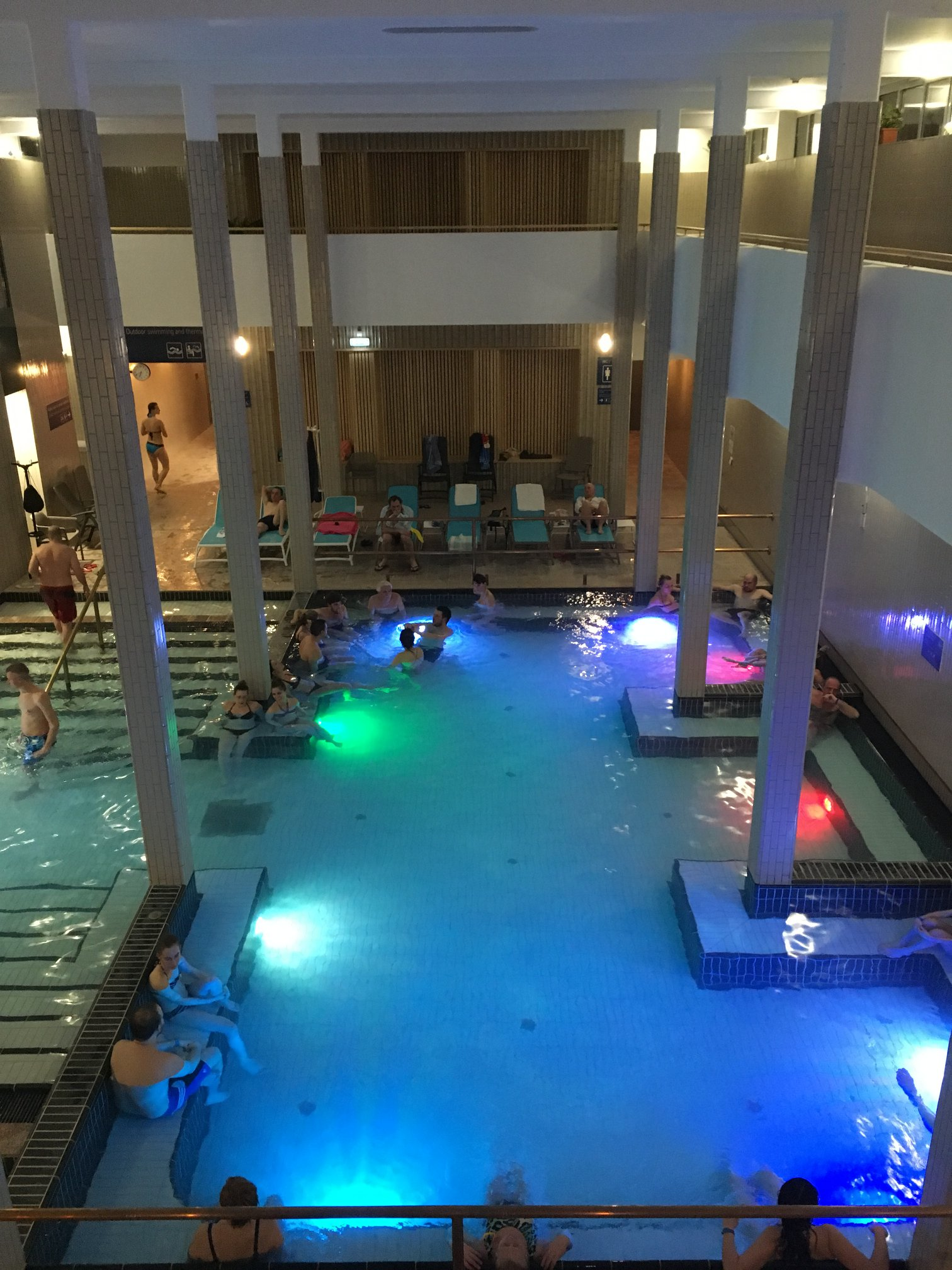 Palatinus strand fürdő wellness medence