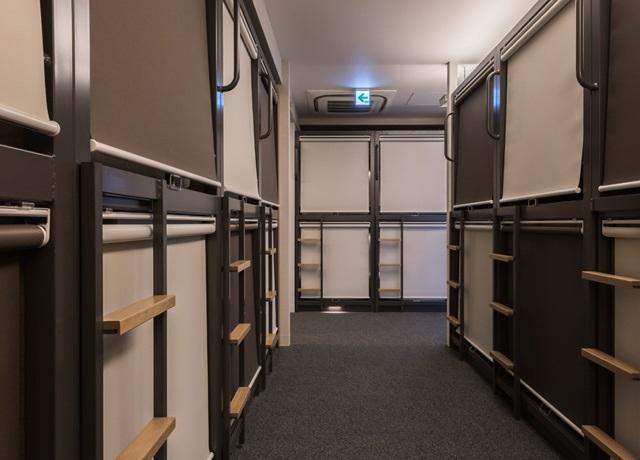 Japán szállás kapszula hotel Tokio Akihabara olcsó