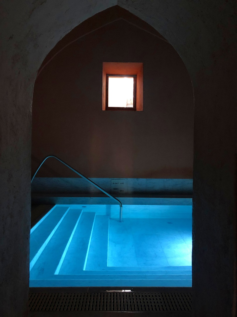 Veli bej fürdője fürdő merülő medence