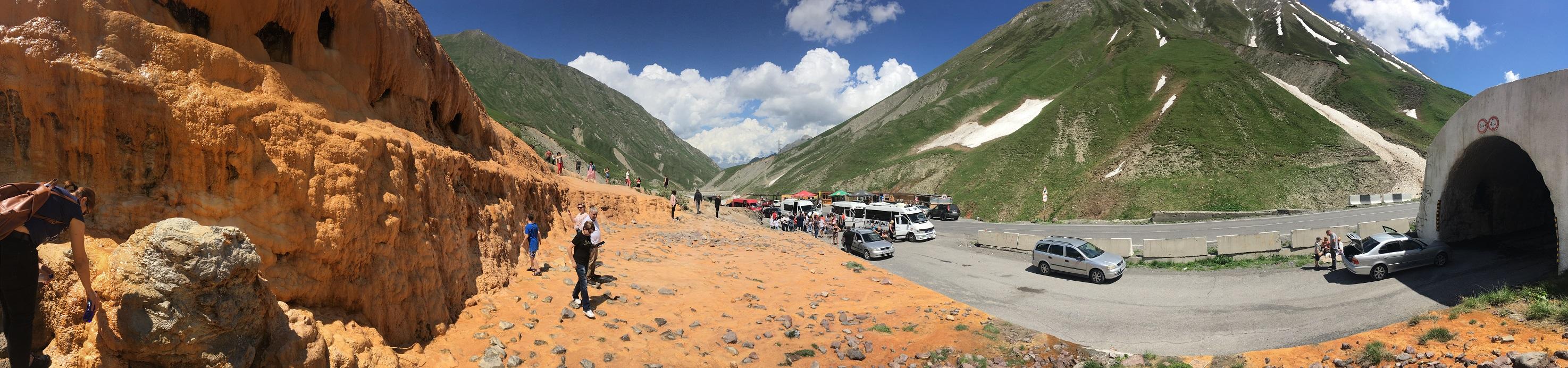 Grúzia túraútvonal és kirándulás ajánló