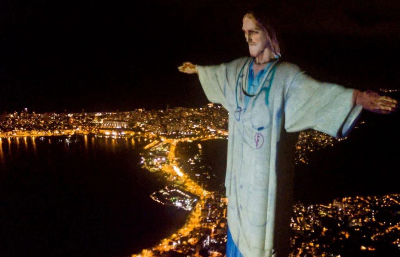 A Megváltó Krisztus szobra Rio de Janeiróban