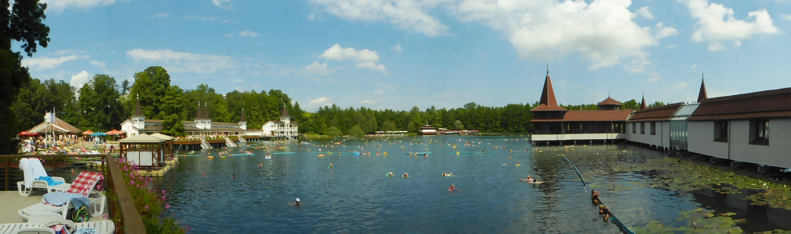 Hévíz tó fürdő