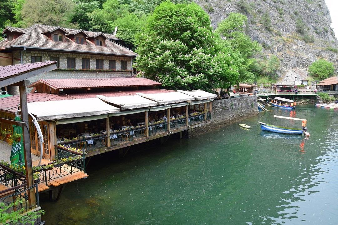 Kirándulás Macedónia fővárosában, Szkopje, Matka kanyon
