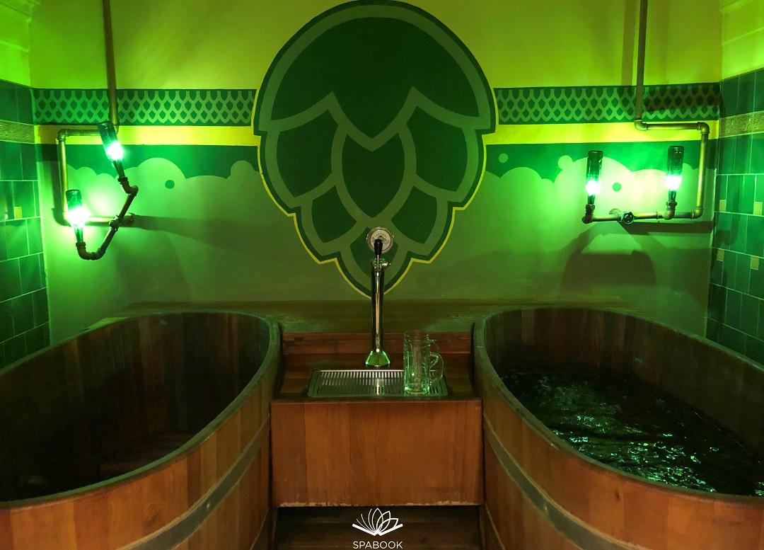 sörfürdő Beer spa Budapest Széchenyi fürdő