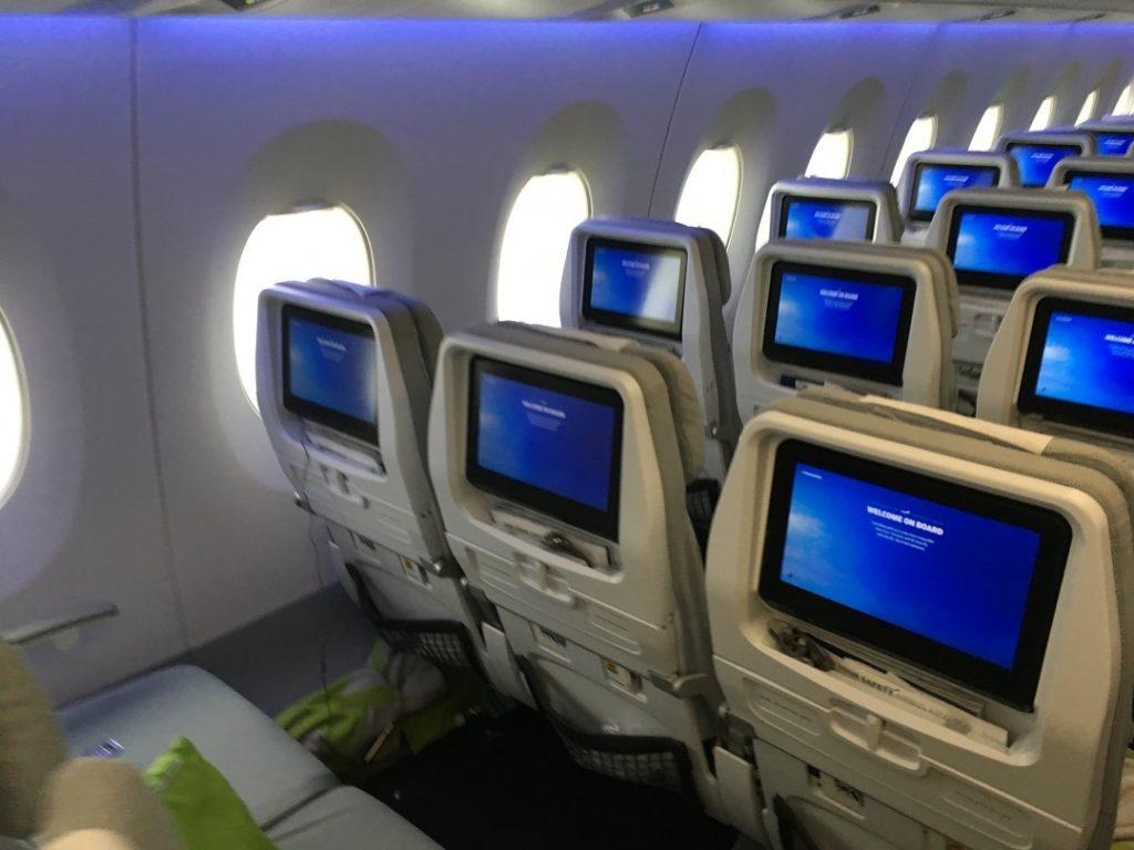 Finnair szabályok a fedélzeten