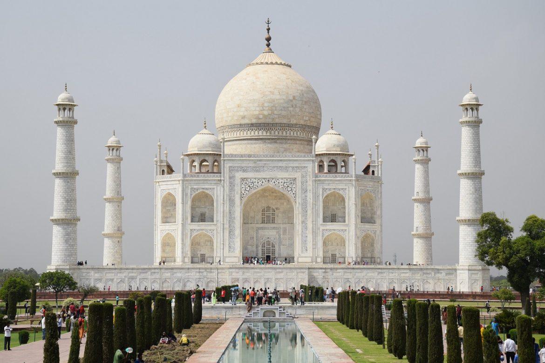 India vízum Taj Mahal
