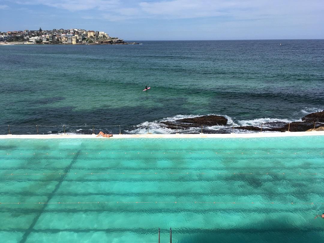 Sydney látnivalók Bondi Icebergs