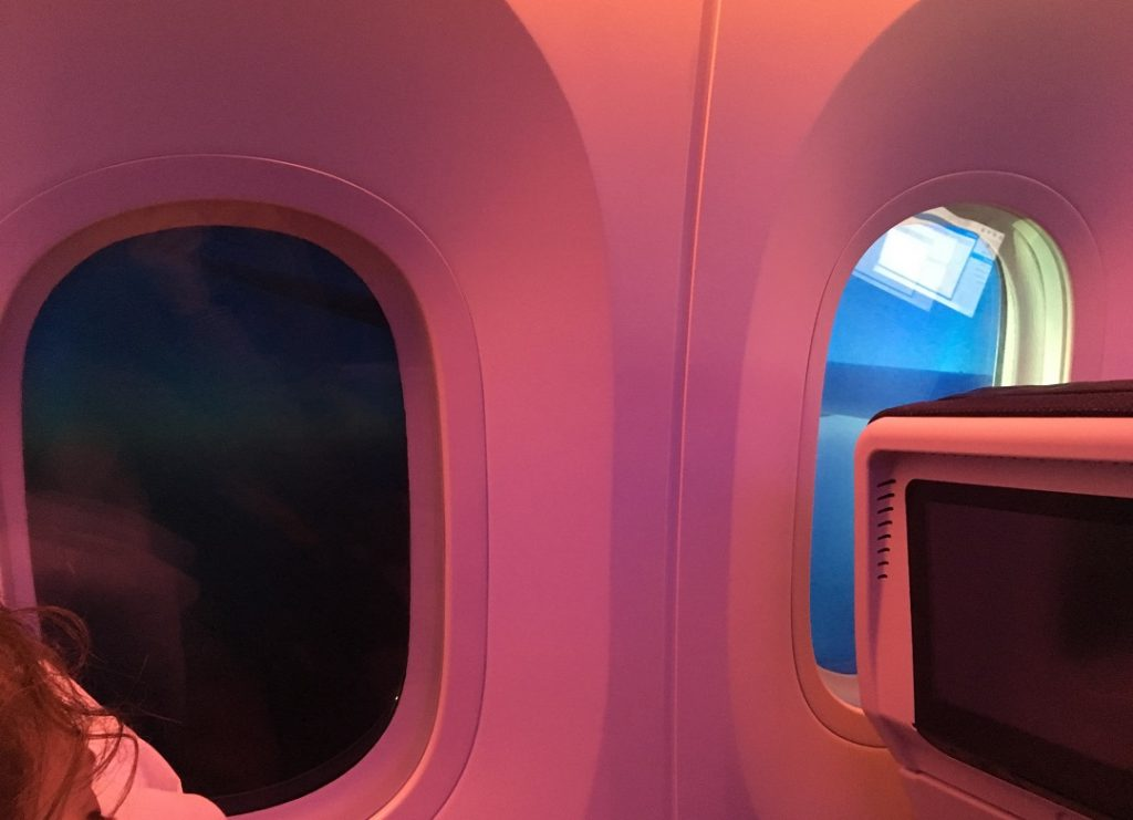 Qatar Airways Dreamliner Budapest-Doha járat