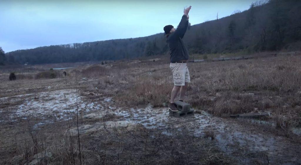 Dirty Dancing emelés jelenet tó
