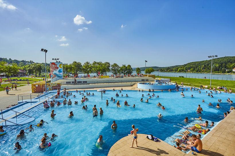 Orfűi strand aquapark árverés licit