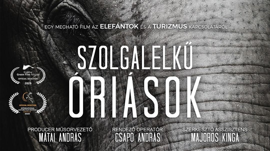 Szolgalelkű Óriások elefántos film