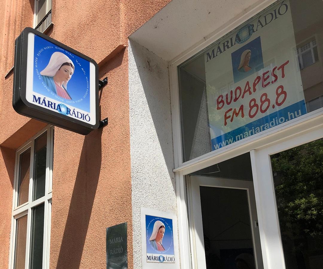 Mária Rádió Hitvalló Tamásfalvi Hanna Kassay Tamás interjú