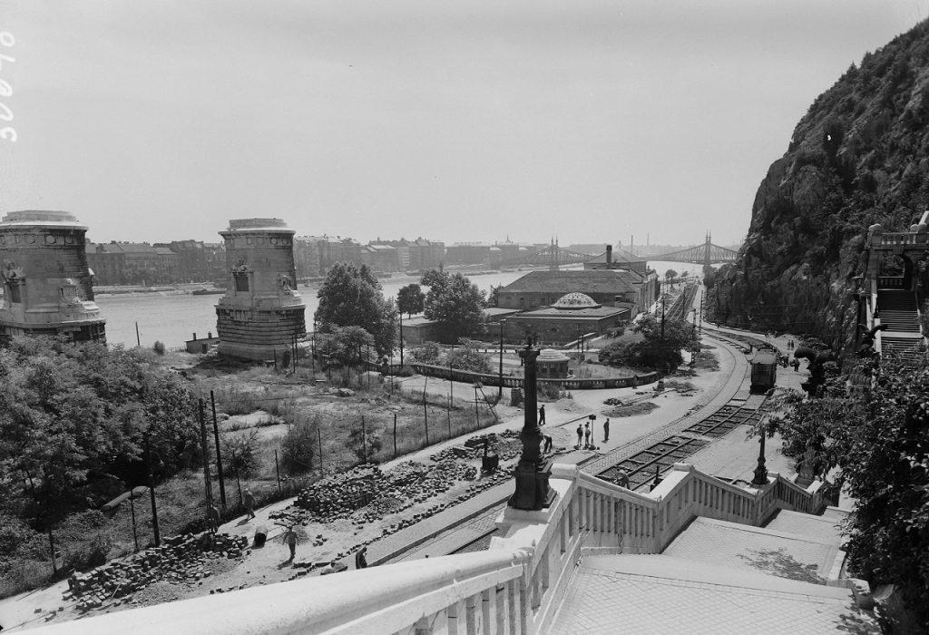 1956 Budapest Rudas fürdő fortepan archív