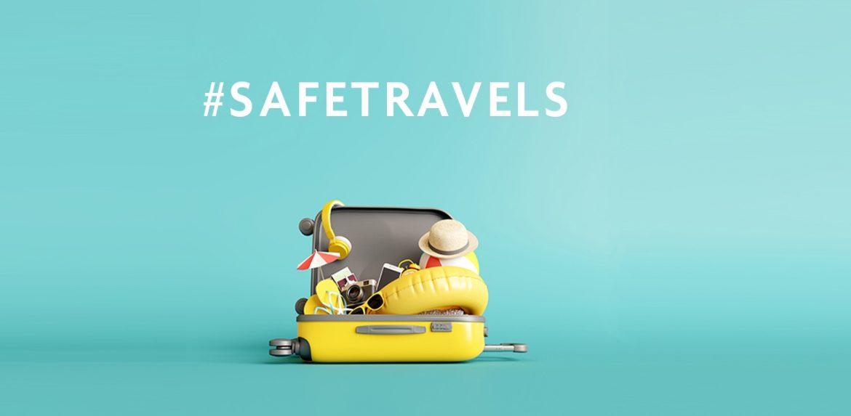 biztonságos utazás tanúsítvány safe travels stamp
