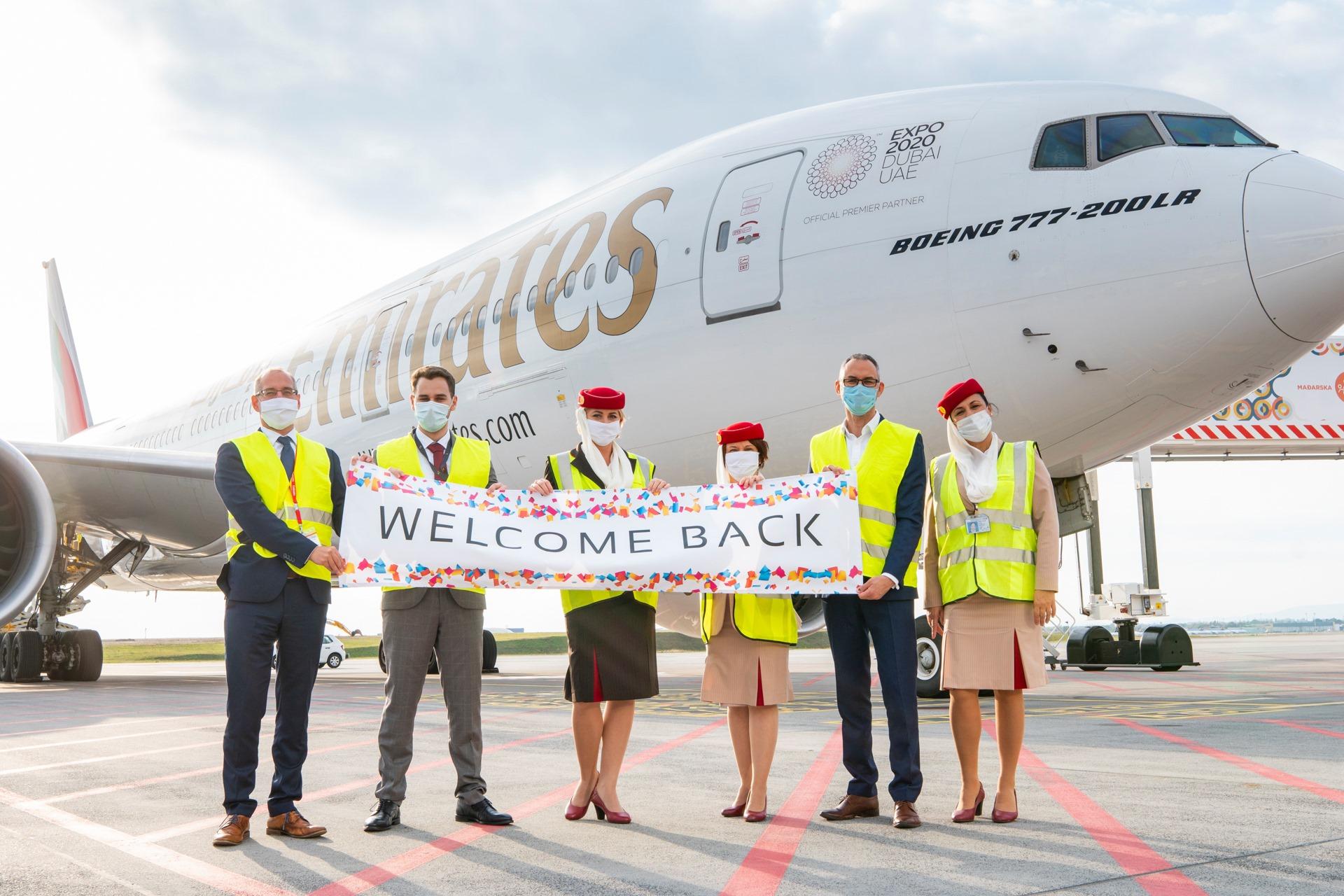 Emirates Budapest Dubaj