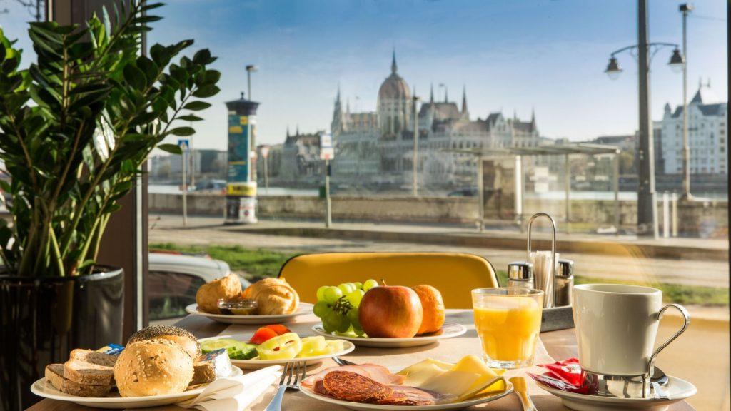 Budapest Boutique Hotel Victoria reggeli