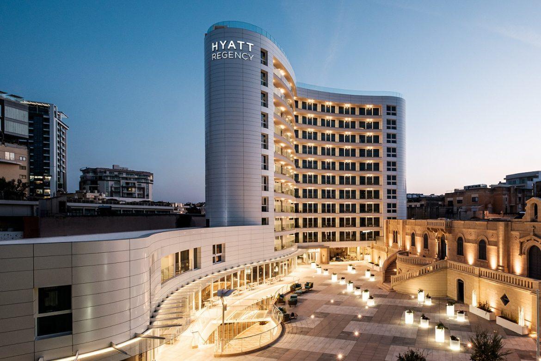 Málta luxus hotel Hyatt Regency 5 csillag superior szálloda St Julian