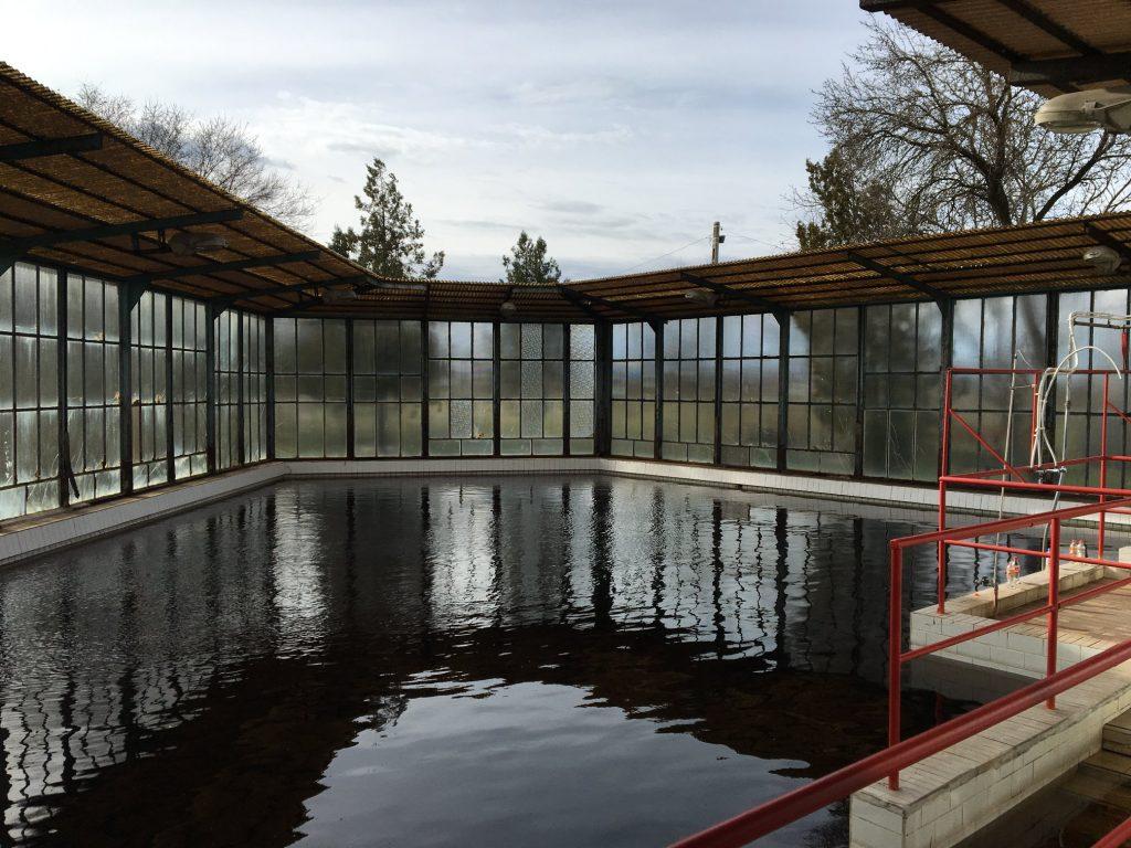 Nagybánhegyesi termálfürdő fejlesztése medence