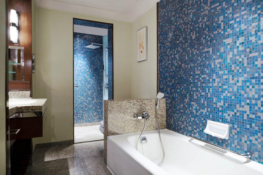 Westin Grand Sukhumvit Bangkok deluxe suite fürdőszoba