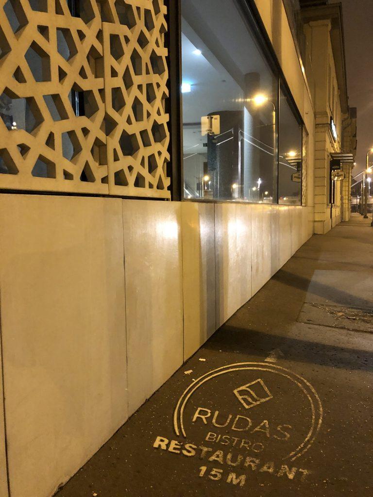 Rudas fürdő étterem kijárási tilalom zárva