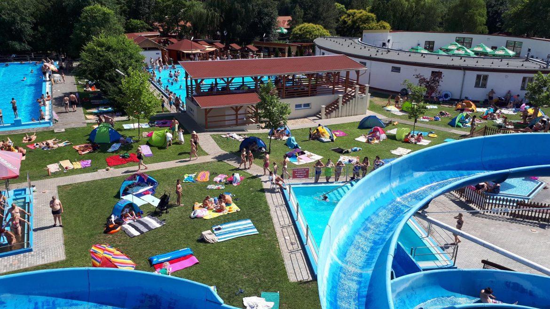 Tiszavasvári strand fürdő fejlesztés szálloda építés