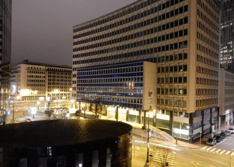 Brüsszel kaland utca eresz éjszakai