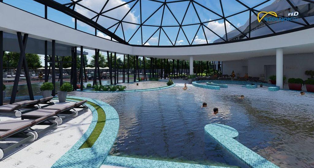 Szolnok Tiszavirág Hotel szállodaépítés wellness