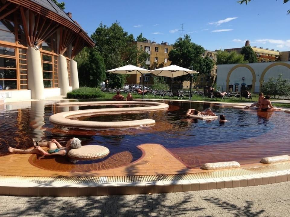 Szarvasi fürdő fejlesztés Szent Klára Gyógyfürdő Szarvas