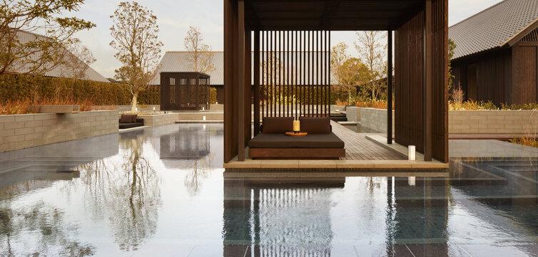 Amanemu wellness hotel japán