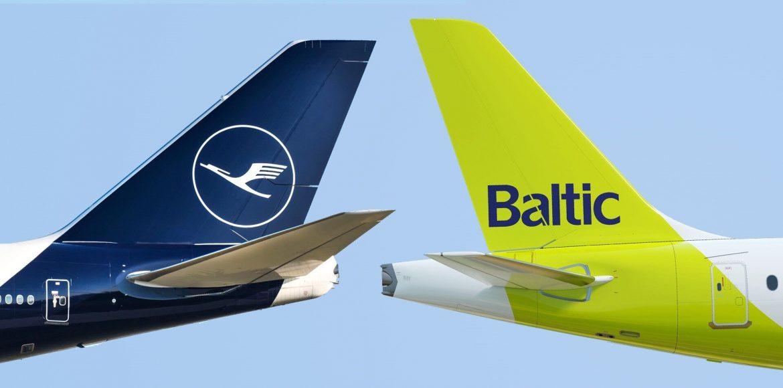 Lufthansa airBaltic codeshare megállapodás írt alá