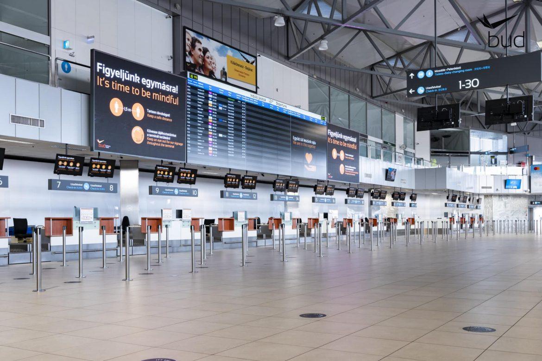 Liszt Ferenc Nemzetközi repülőtér Ferihegy fejlesztések ujranyitó terminál járványügyi intézkedések