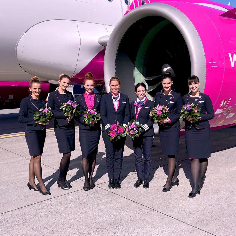 Wizz Air nőnapi ígérete több női pilóta vezető hölgy