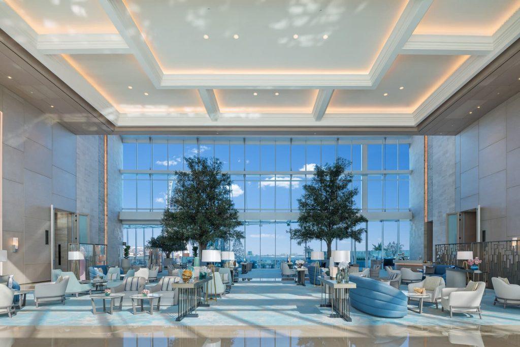 Address beach resort Dubaj hall