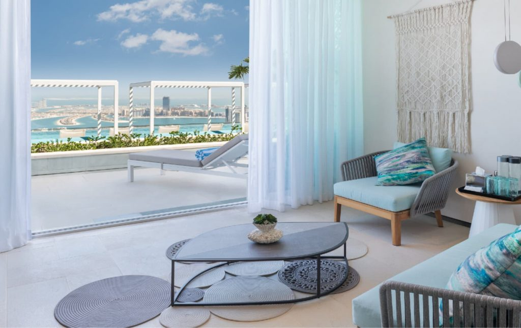 Address beach resort Dubaj hotel szoba