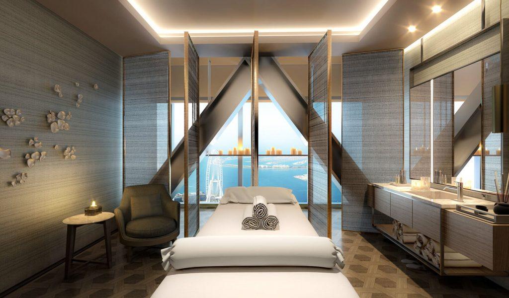 Address Beach Resort Dubaj spa wellness masszázs
