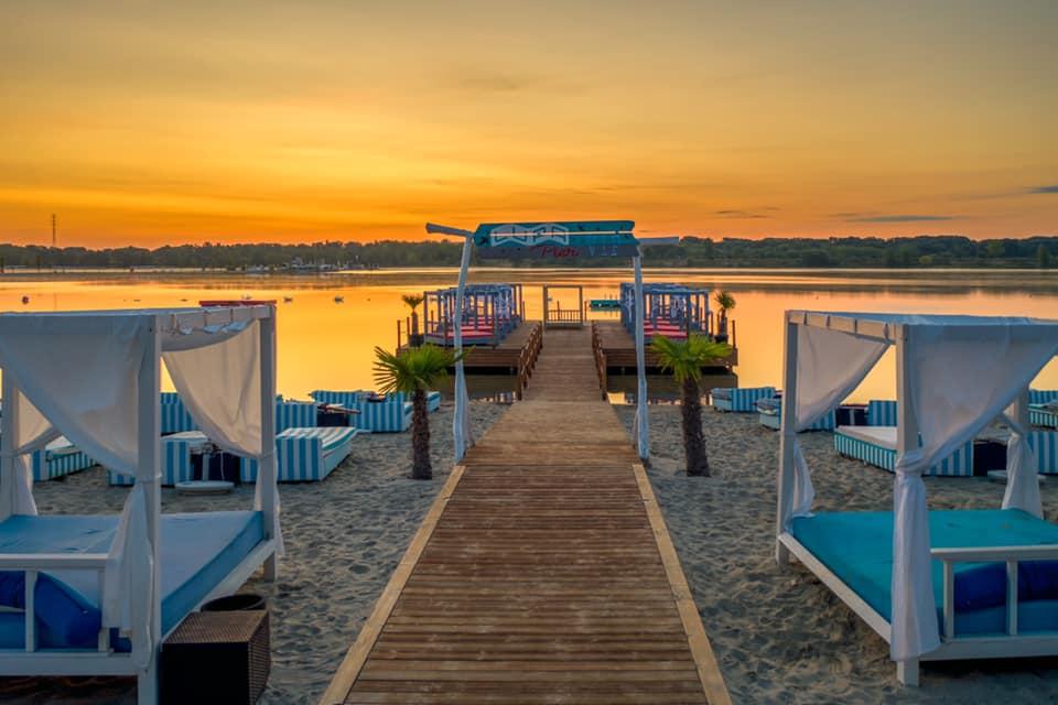 Lupa Beach védettségi igazolvány nélkül ingyenes strand Lupa-tó