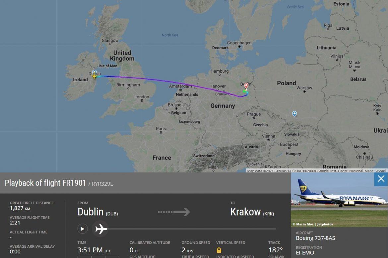 Ryanair kényszerleszállás Berlin bombariadó