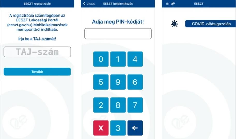 elektronikus védettségi igazolvány mobil alkalmazás letöltés eeszt alkalmazás használata