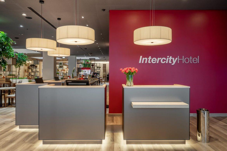 IntercityHotel Budapest szálloda recepció