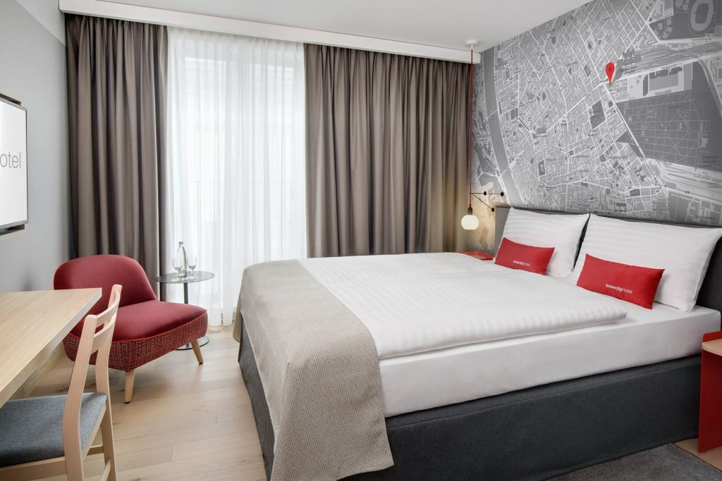 IntercityHotel Budapest szálloda szoba