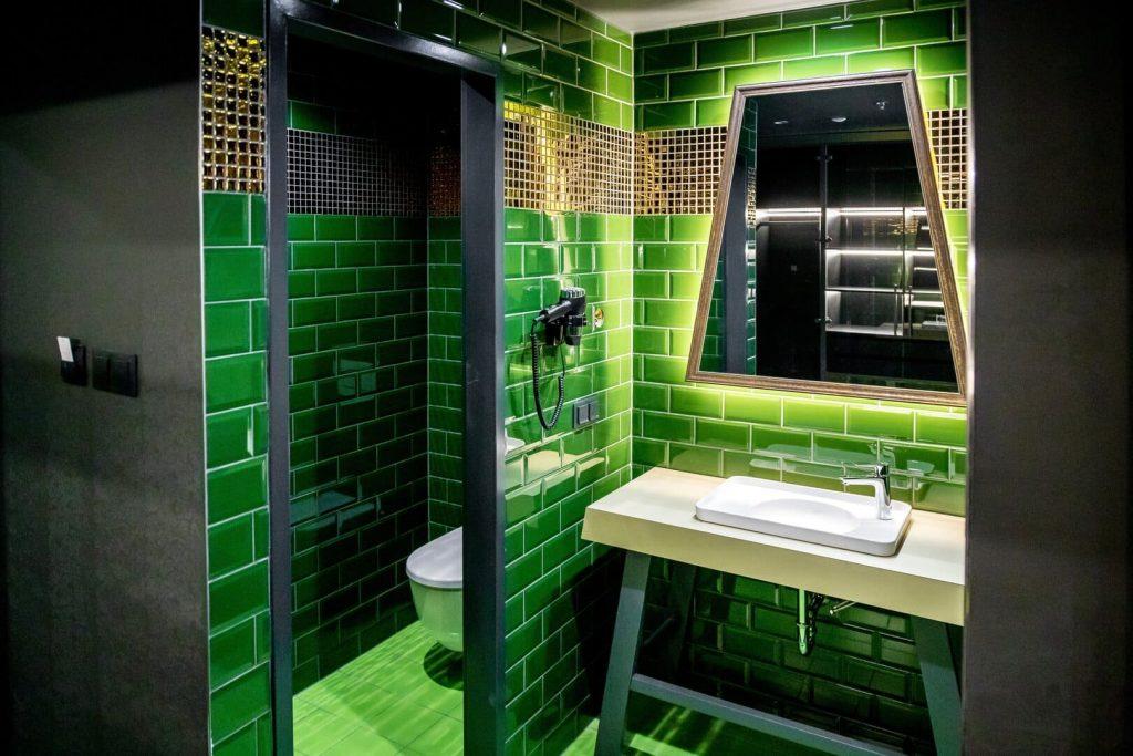 Tokaj luxus szálloda szoba képriport Minaro hotel fürdőszoba