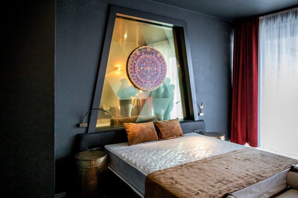 Tokaj luxus szálloda szoba képriport Minaro hotel szoba